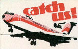 Catch Us ad logo, 1976