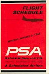 Timetable, 1965-01-05