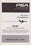 Timetable, 1965-06-04