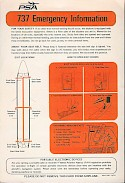 737-200 Safety Card, 1972 (front) (Chris Laborde)